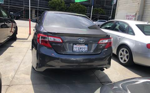 Toyota San Francisco >> Toyota Camry For Sale In San Francisco Ca Excelsior