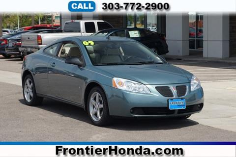 2009 Pontiac G6 for sale in Longmont, CO