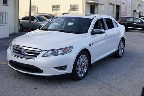 2011 Ford Taurus for sale at Auto Credit & Finance Corp. in Miami FL