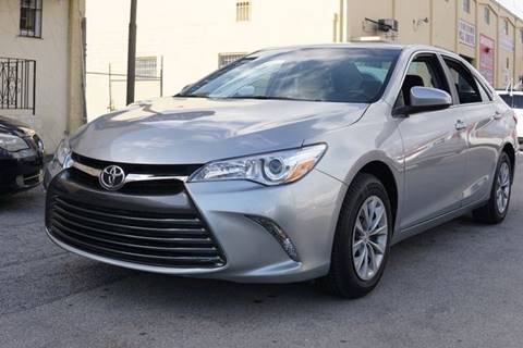 2017 Toyota Camry for sale at Auto Credit & Finance Corp. in Miami FL