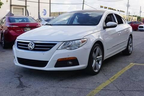 2010 Volkswagen CC for sale at Auto Credit & Finance Corp. in Miami FL