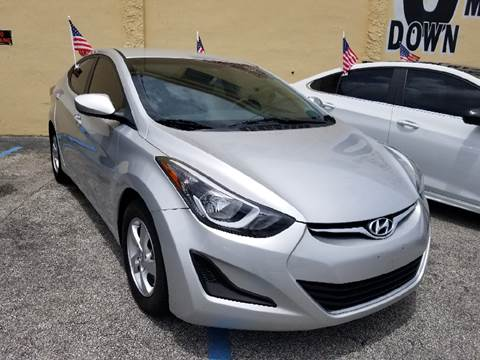 2015 Hyundai Elantra for sale at Auto Credit & Finance Corp. in Miami FL