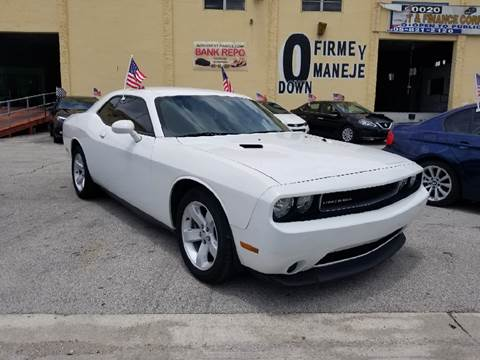 2012 Dodge Challenger for sale at Auto Credit & Finance Corp. in Miami FL