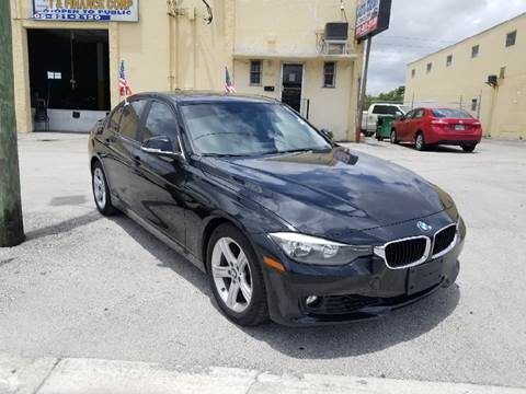2013 BMW 3 Series for sale at Auto Credit & Finance Corp. in Miami FL