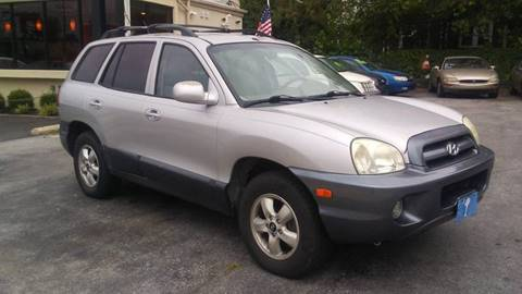 2005 Hyundai Santa Fe for sale at Glacier Auto Sales in Wilmington DE