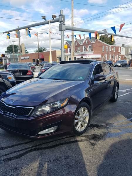 2012 Kia Optima For Sale At Glacier Auto Sales In Wilmington DE