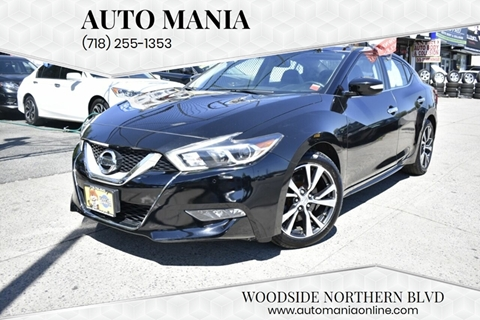 2016 Nissan Maxima for sale in Woodside, NY