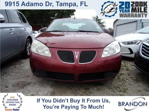 2009 Pontiac G6 for sale in Tampa, FL