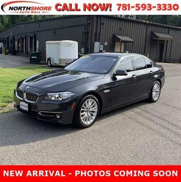 2016 BMW 5 Series for sale in Lynn, MA