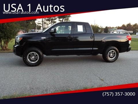 2013 Toyota Tundra for sale at USA 1 Autos in Smithfield VA