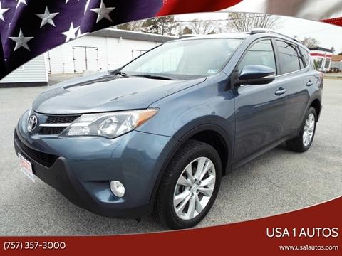 2014 Toyota RAV4 for sale at USA 1 Autos in Smithfield VA