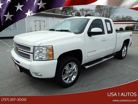 2012 Chevrolet Silverado 1500 for sale in Smithfield, VA