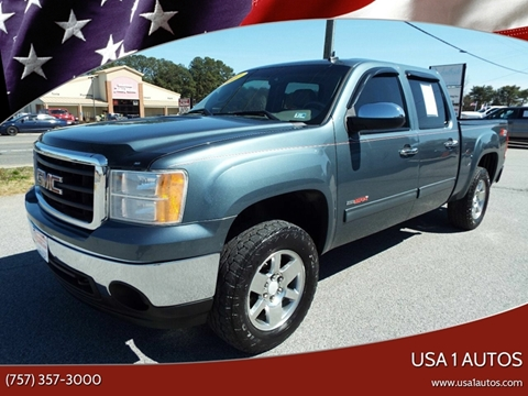 2007 GMC Sierra 1500 for sale at USA 1 Autos in Smithfield VA