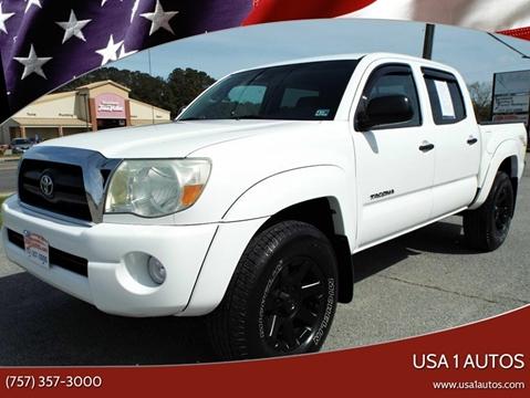 2006 Toyota Tacoma for sale at USA 1 Autos in Smithfield VA