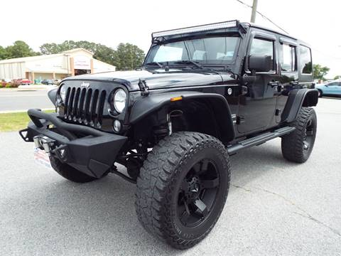 2016 Jeep Wrangler Unlimited for sale at USA 1 Autos in Smithfield VA