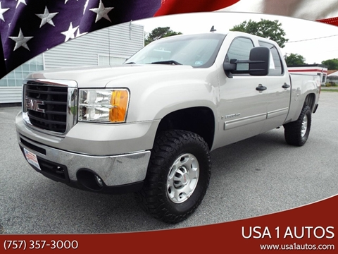 2009 GMC Sierra 2500HD for sale at USA 1 Autos in Smithfield VA