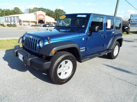 2010 Jeep Wrangler Unlimited for sale at USA 1 Autos in Smithfield VA