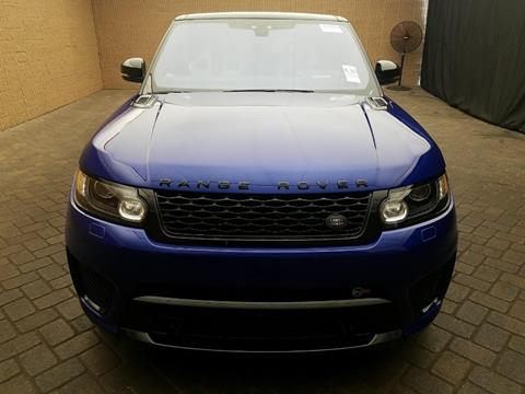2017 Land Rover Range Rover Sport for sale in Jamaica, NY