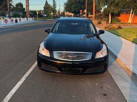 2007 Infiniti G35 for sale at OPTED MOTORS in Santa Clara CA