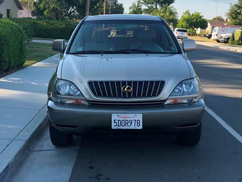 2000 Lexus RX 300 for sale at OPTED MOTORS in Santa Clara CA