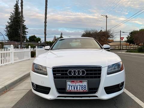 2010 Audi A5 for sale at OPTED MOTORS in Santa Clara CA