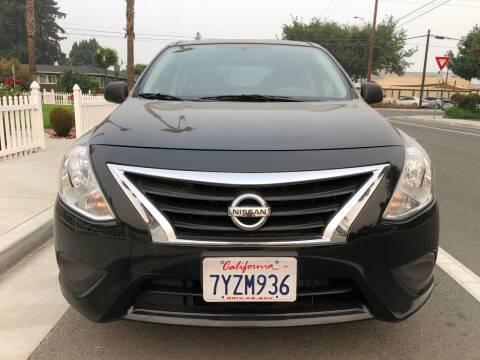 2015 Nissan Versa for sale at OPTED MOTORS in Santa Clara CA