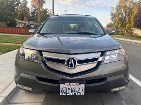 2008 Acura MDX for sale at OPTED MOTORS in Santa Clara CA