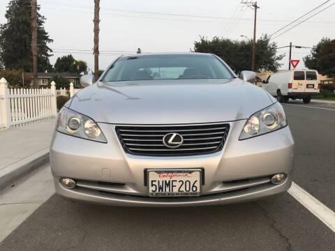 2007 Lexus ES 350 for sale at OPTED MOTORS in Santa Clara CA