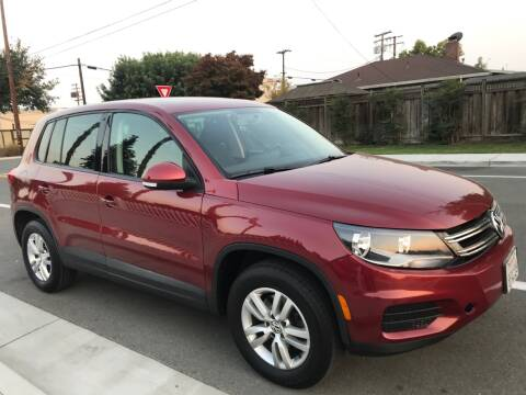 2013 Volkswagen Tiguan for sale at OPTED MOTORS in Santa Clara CA