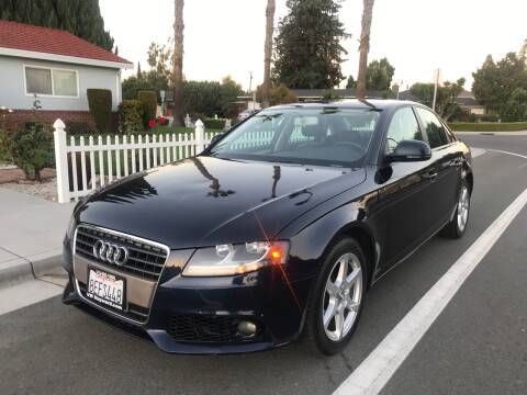 2009 Audi A4 for sale at OPTED MOTORS in Santa Clara CA