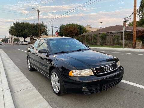 2001 Audi S4 for sale at OPTED MOTORS in Santa Clara CA