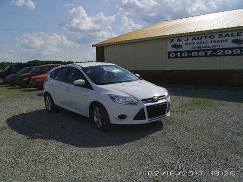 2014 Ford Focus for sale at Z & J Auto in Murphysboro IL