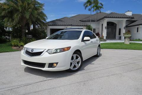 2009 Acura TSX for sale at Citywide Auto Group LLC in Pompano Beach FL
