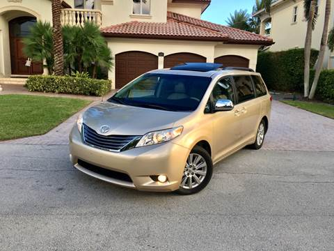 2011 Toyota Sienna for sale at Citywide Auto Group LLC in Pompano Beach FL