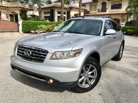 2007 Infiniti FX35 for sale at Citywide Auto Group LLC in Pompano Beach FL