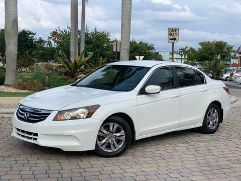 2012 Honda Accord for sale at Citywide Auto Group LLC in Pompano Beach FL