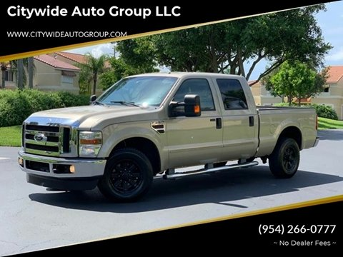 2009 Ford F-250 Super Duty for sale at Citywide Auto Group LLC in Pompano Beach FL