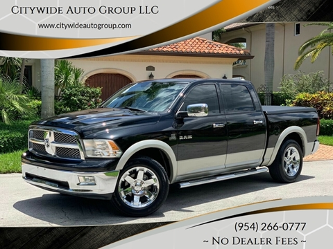 2009 Dodge Ram Pickup 1500 for sale at Citywide Auto Group LLC in Pompano Beach FL