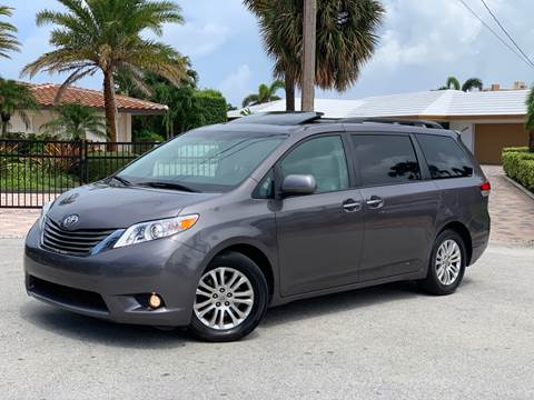 2012 Toyota Sienna for sale at Citywide Auto Group LLC in Pompano Beach FL