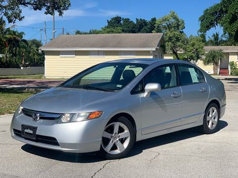 2008 Honda Civic for sale at Citywide Auto Group LLC in Pompano Beach FL