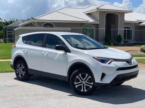 2018 Toyota RAV4 for sale at Citywide Auto Group LLC in Pompano Beach FL