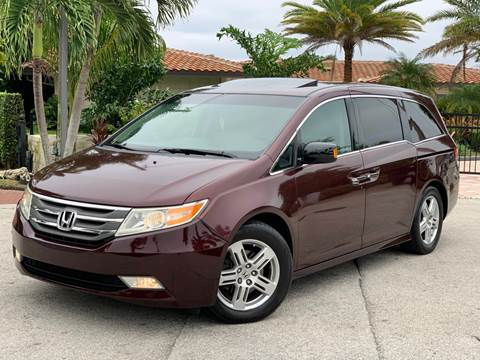 2012 Honda Odyssey for sale at Citywide Auto Group LLC in Pompano Beach FL