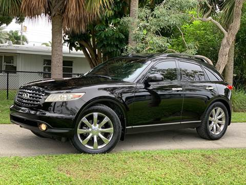 2004 Infiniti FX35 for sale at Citywide Auto Group LLC in Pompano Beach FL