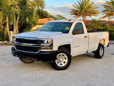 2016 Chevrolet Silverado 1500 for sale at Citywide Auto Group LLC in Pompano Beach FL