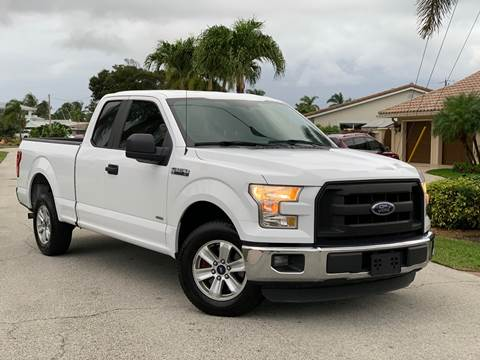 2015 Ford F-150 for sale at Citywide Auto Group LLC in Pompano Beach FL