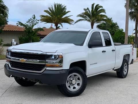 2017 Chevrolet Silverado 1500 for sale at Citywide Auto Group LLC in Pompano Beach FL