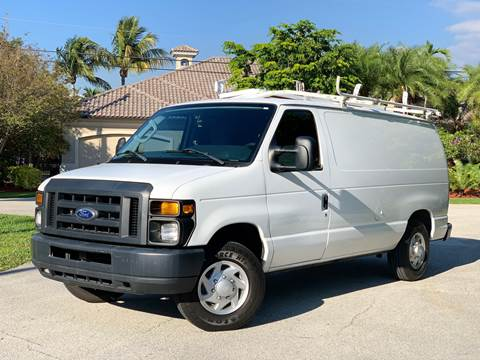 2014 Ford E-Series Cargo for sale at Citywide Auto Group LLC in Pompano Beach FL
