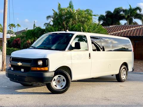2016 Chevrolet Express Passenger for sale at Citywide Auto Group LLC in Pompano Beach FL