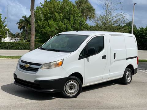 2015 Chevrolet City Express Cargo for sale at Citywide Auto Group LLC in Pompano Beach FL