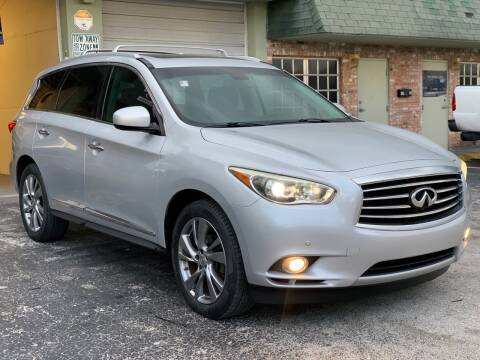 2013 Infiniti JX35 for sale at Citywide Auto Group LLC in Pompano Beach FL